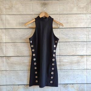 Glamorous by Nasty Gal High Neck Mini Dress XS